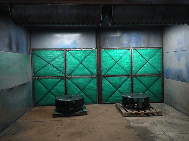Cách hoạt động bộ lọc của phòng phun sơn